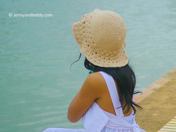 beach vibe sun hat