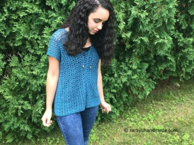 Lace Up Summer Tunic