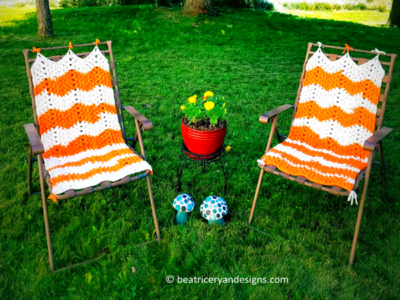 Lazy Daze Lawn Chair Cover