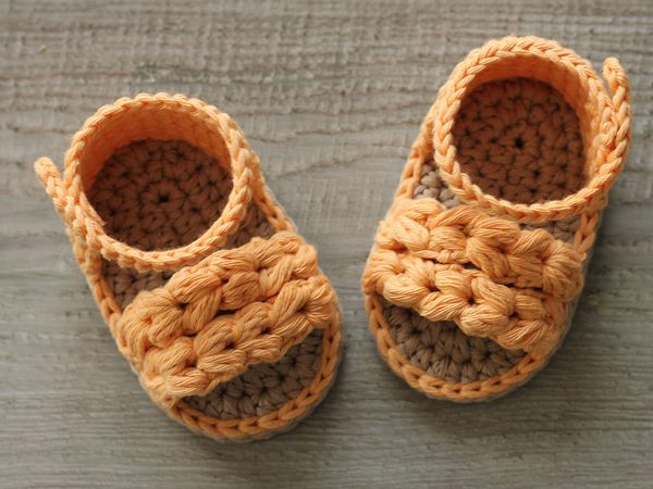 crochet ava Summer Sandals free pattern