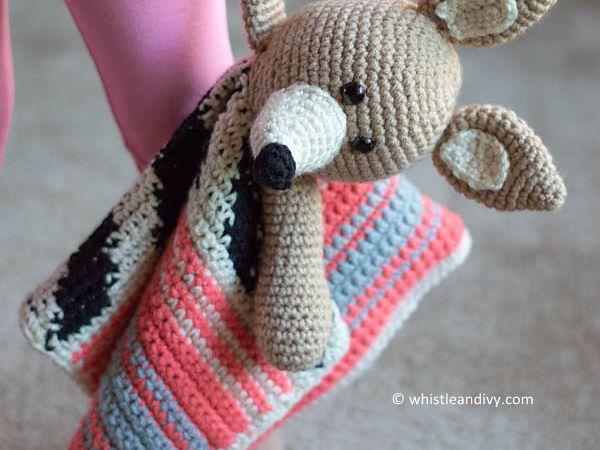 Serape Lovey Blanket