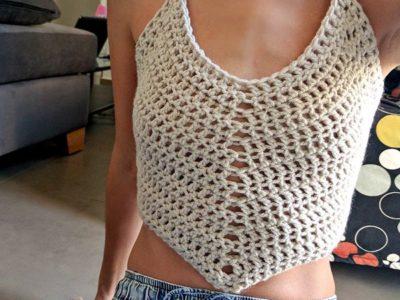 Easy Crochet Tank Top Pattern
