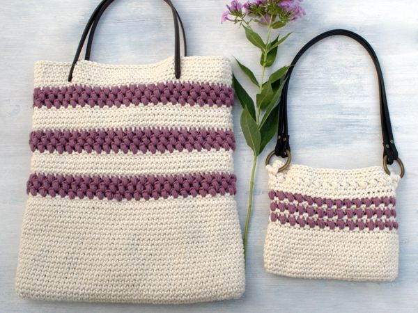 Red Clover Summer Tote