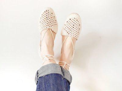 Crochet Boho Sandals