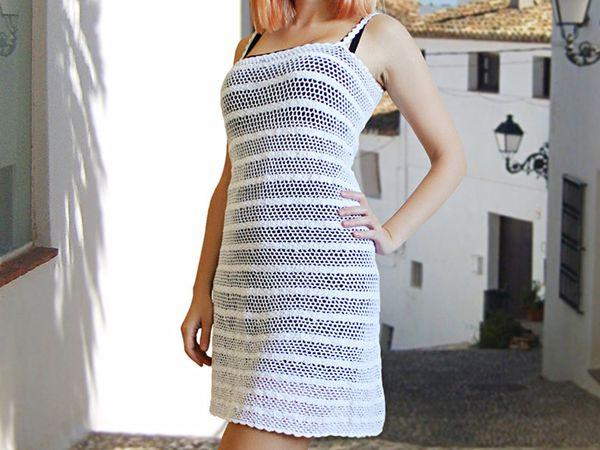 Crochet Summer Dress Pattern Share A Pattern