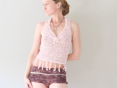 Light Pink Cotton Tank
