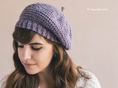 Crochet Parisienne Beret