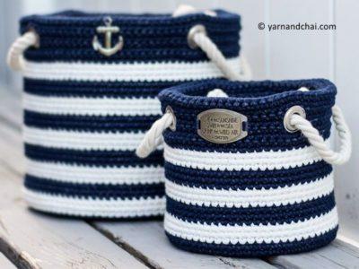 Nautical Basket