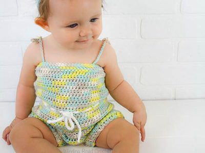 Beachside Baby Romper