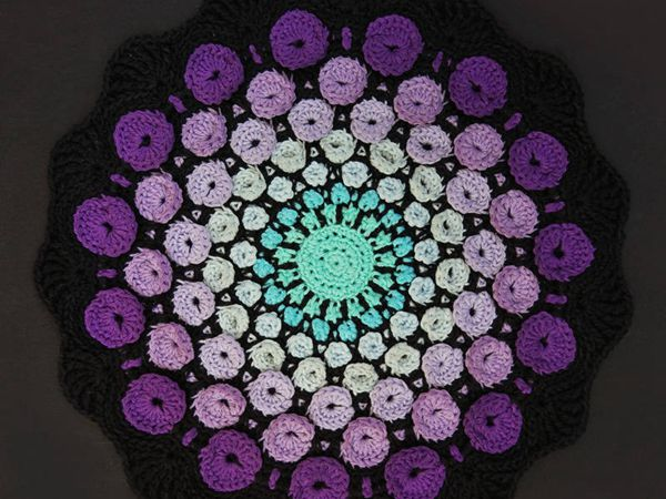 Stone Mandala Crochet Pattern