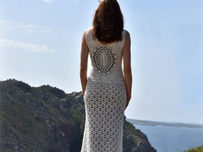 Beach Wedding Crochet Dress