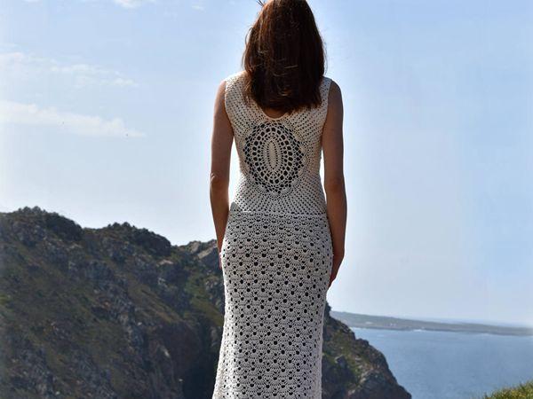 Beach Wedding Crochet Dress
