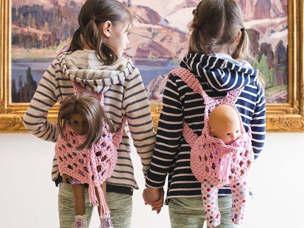 Doll Backpack Carrier
