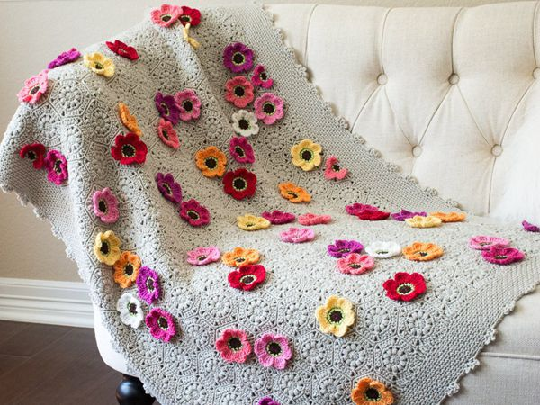 Flower Throw Blanket