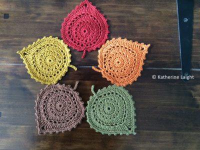 Leaf Coasters