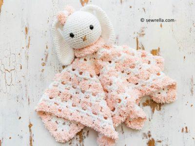 Snuggle Bunny Baby Lovey