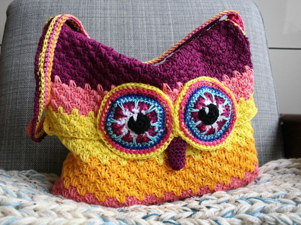 Crochet Owl Purse Pattern Share A Pattern