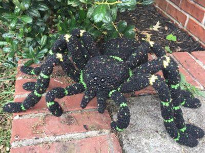 Large Tarantula Crochet Pattern