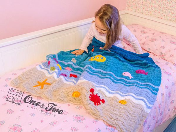 Sealife Blanket