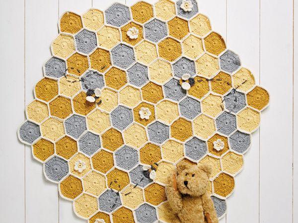 Crochet Bee Blanket