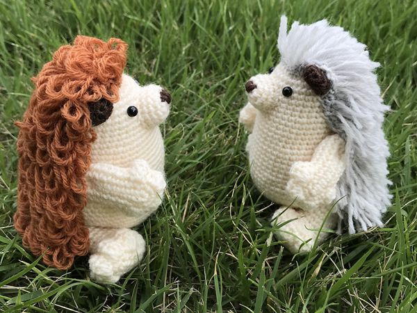 PALMy Hedgehog Amigurumi