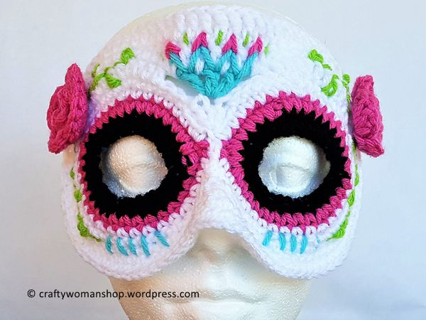 Catrina Painted Skull Mask
