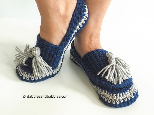 Tassel Slip on Slippers