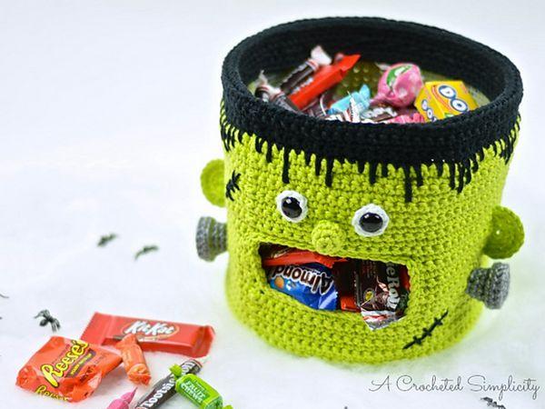 Frankenstein Candy Bowl