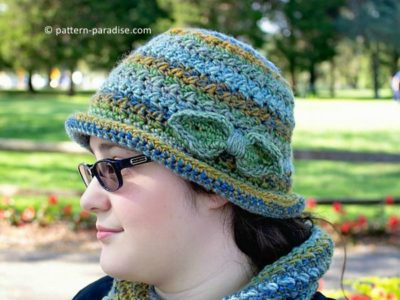 Colorscape Cloche Hat