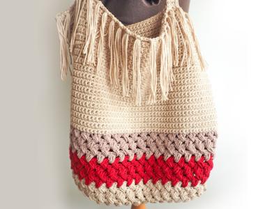 Fringe Shopping Bag