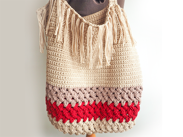 Fringe Shopping Bag