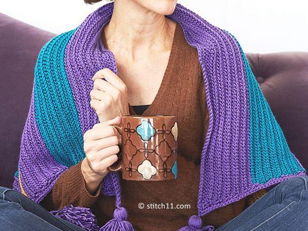 Bright Stripe Blanket