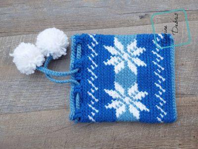 Dancing Snowflakes Gift Bag