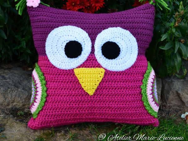Owl Cushion for Tim