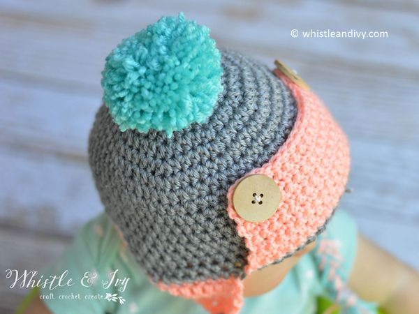 Baby Trapper Hat Share A Pattern