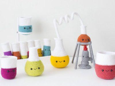 Crochet Chemistry Set