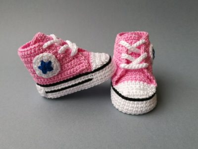 All Star Baby Booties
