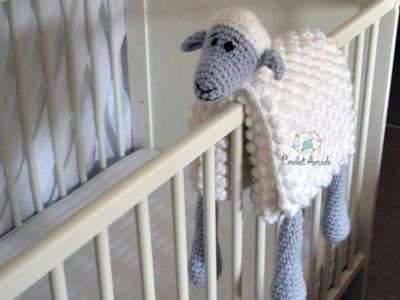Play Sheep Crochet Baby Blanket