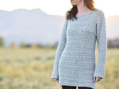 Lakeside Crocheted Sweater