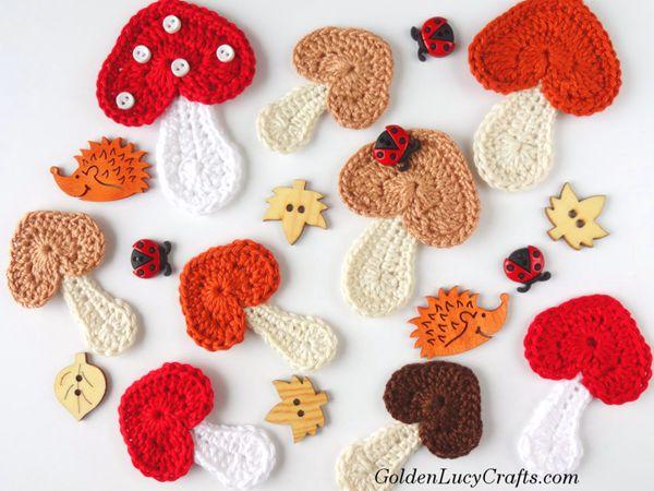 Mushroom Applique