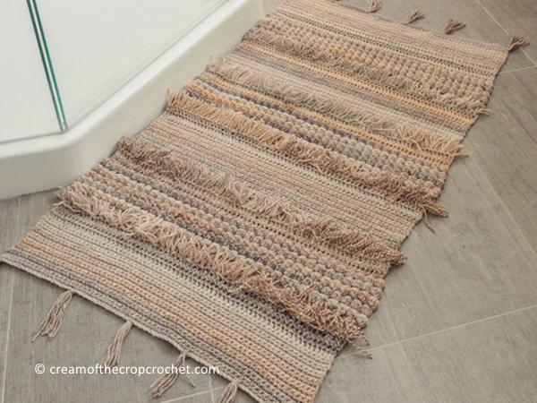 Textured Rug Crochet Pattern