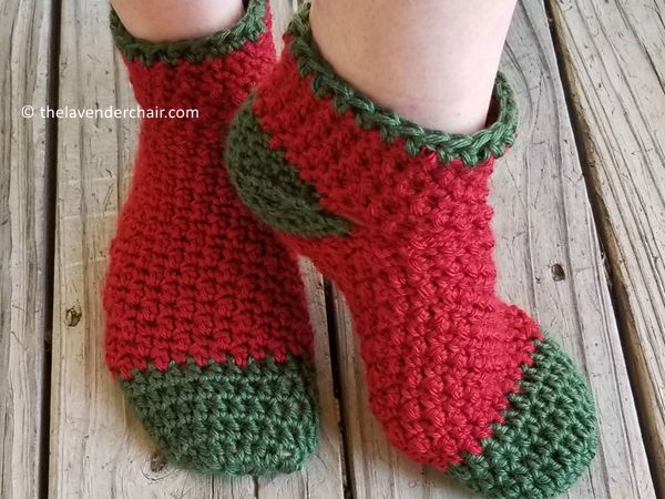 Holly Jolly Christmas Socks
