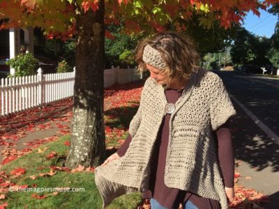 Casual and Comfy Fall Wrap