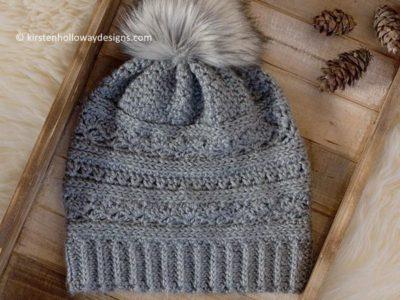 November Twilight Crochet Slouch Hat