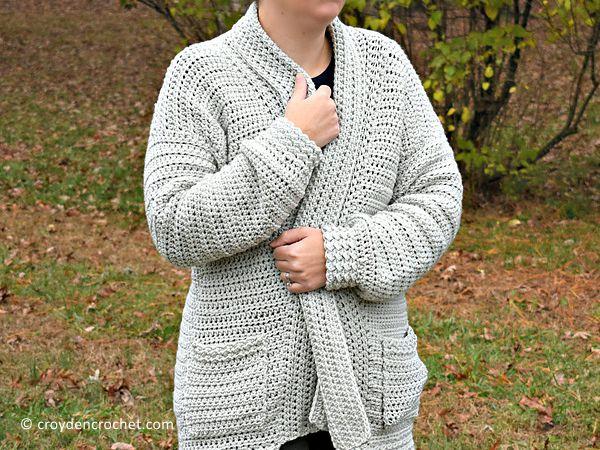 Bellevue Crochet Cardigan