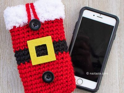 Santa Cell Phone Case