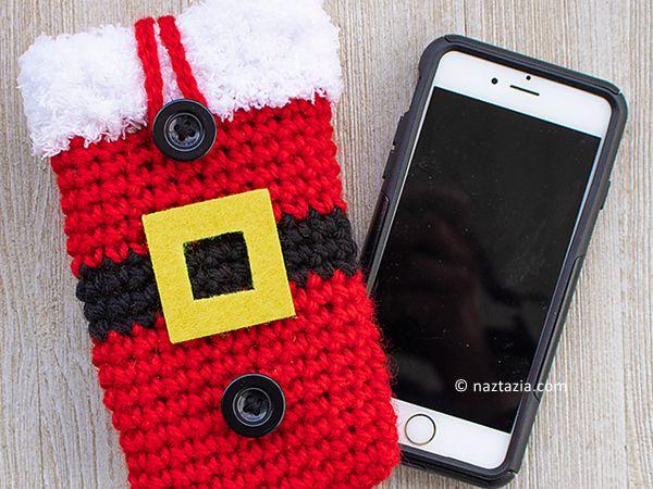 Santa Cell Phone Case