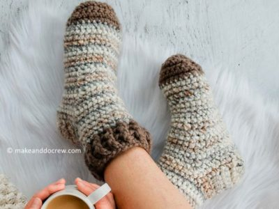 Snuggly Slipper Socks