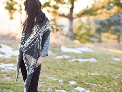 las cruces crocheted wrap shawl