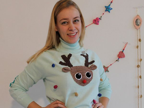 Ugly Christmas Sweater DIY